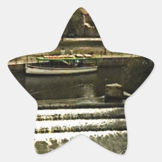 jGibney de Inglaterra 1986 snap-11510art do banho Adesivo Em Forma De Estrela