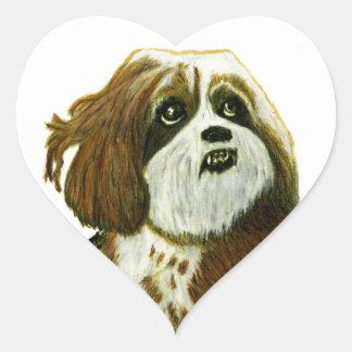 jGibney do cachorrinho de MURPHY os presentes de Adesivo Coração