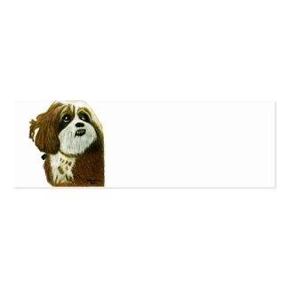 jGibney do cachorrinho de MURPHY os presentes de Cartão De Visita Skinny