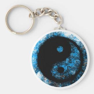 jGibney do preto azul de Yin Yang o presente de Chaveiro