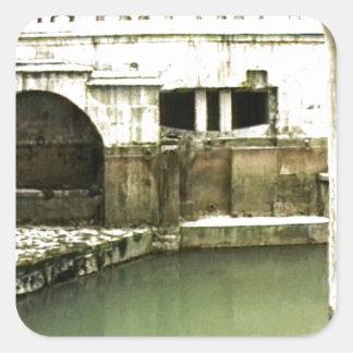 jGibney romano de Inglaterra 1986 Bath1b Adesivo Em Forma Quadrada