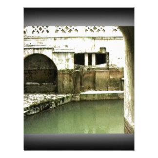 jGibney romano de Inglaterra 1986 Bath1b Modelo De Papel De Carta