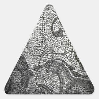 jGibney romano de Inglaterra 1986 Mural1 Adesivos Triângulo