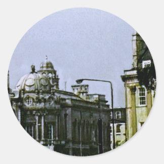 jGibney snap-0719a1 de Inglaterra 1986 do banho O Adesivo Em Formato Redondo