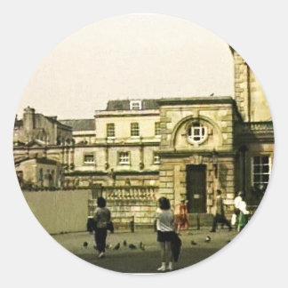 jGibney snap-12152 de Inglaterra 1986 do banho O Adesivos Em Formato Redondos