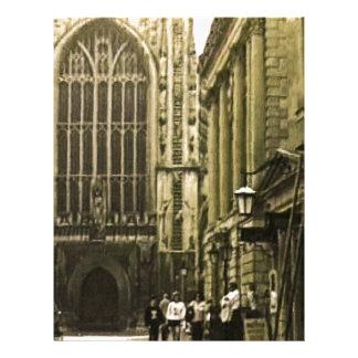 jGibney snap-12391 de Inglaterra 1986 do banho O Papeis De Carta Personalizados