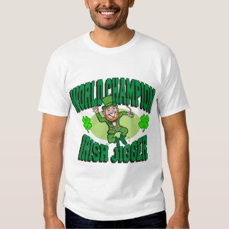 Jigger do irlandês do campeão do mundo t-shirt