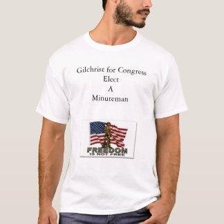 Jim Gilchrist para o congresso Camiseta