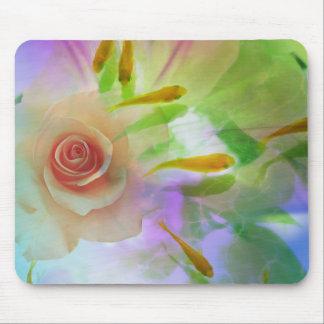 Jitaku cor-de-rosa e arte Mousepad do peixe