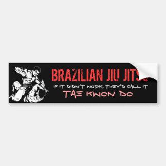 JIU BRASILEIRO JITSU ADESIVO PARA CARRO