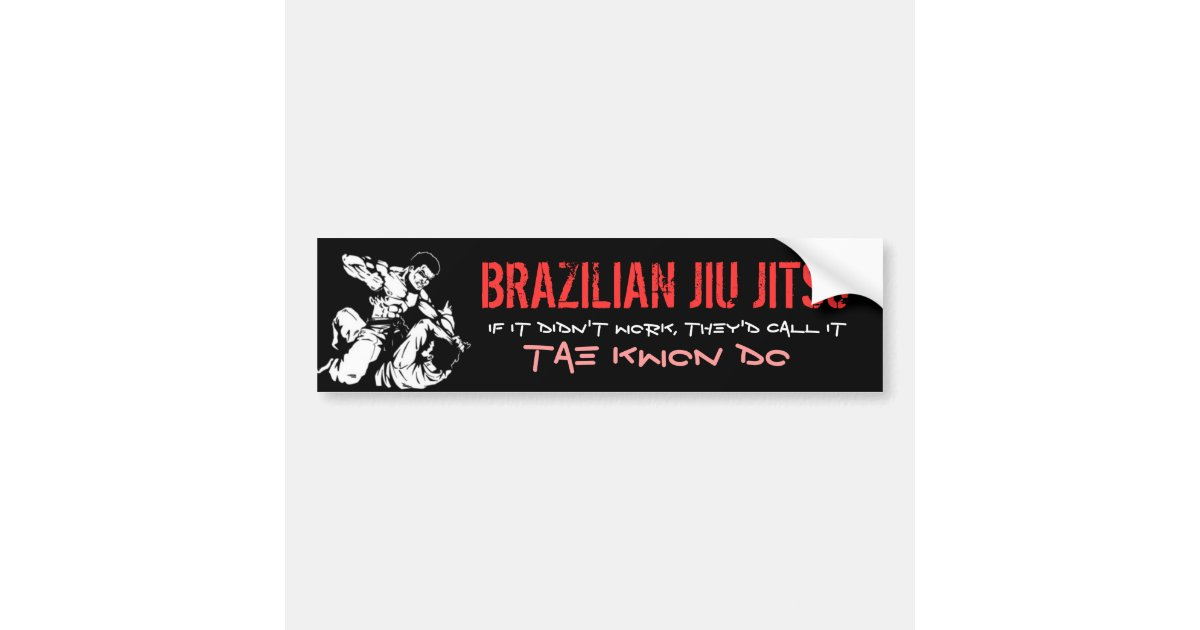 Advance Artesanato Osasco ~ JIU BRASILEIRO JITSU ADESIVO PARA CARRO Zazzle