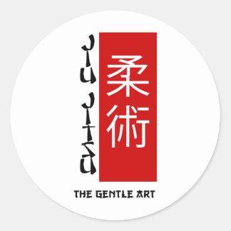 Jiu Jitsu - a arte delicada Adesivo