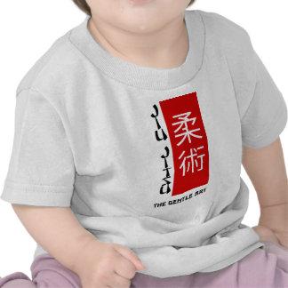 Jiu Jitsu - a arte delicada T-shirts