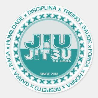 Jiu Jitsu - Respeito - Treino e Disciplina by BJJH Adesivo