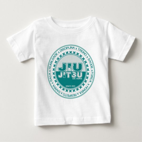 Jiu Jitsu - Respeito - Treino e Disciplina by BJJH Camiseta Para Bebê