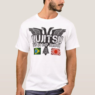 JiuJitsu Brasil - camisa de Japão