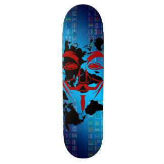 JK16 ROUPA - cara Fauxes Shape De Skate 18,7cm