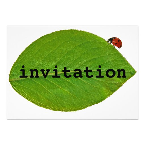 Joaninha Convites Personalizados