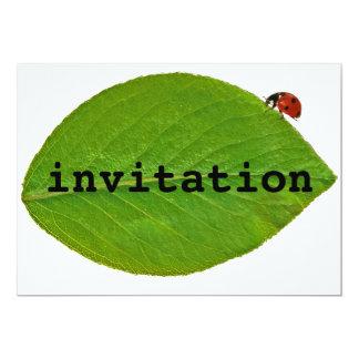 Joaninha Convite 12.7 X 17.78cm