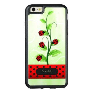 Joaninha dos joaninhas no iPhone 6 de OtterBox da