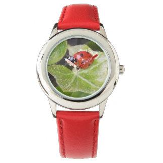 Joaninha Ladybug eWatch relógio de pulso