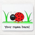 Joaninha personalizado Mousepad
