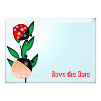 Joaninhas Convite 12.7 X 17.78cm