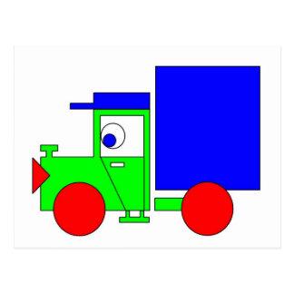 Joe o caminhão cartão postal