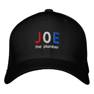 JOE o chapéu bordado canalizador Bones