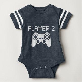 Jogador 2 (bebê) body para bebê