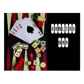 jogador cartão postal