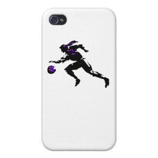 Jogador de basquetebol abstrato iPhone 4 capa