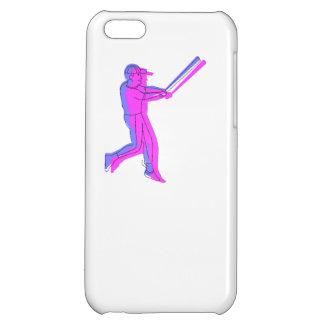 Jogador de beisebol estilizado capa iphone 5C
