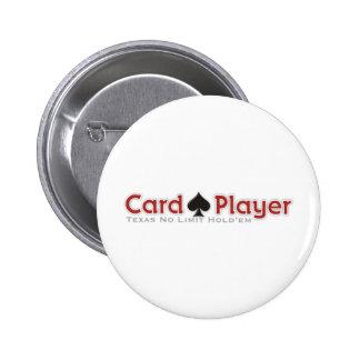 Jogador de cartão botons