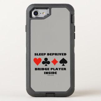 Jogador de ponte destituído sono dentro dos ternos capa para iPhone 8/7 OtterBox defender