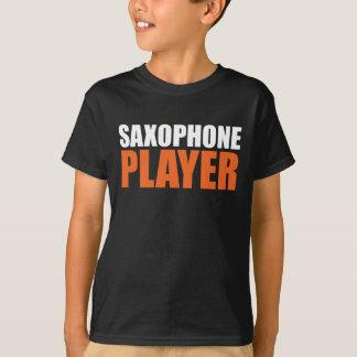Jogador de saxofone camiseta