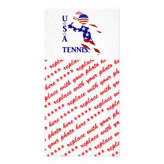 Jogador de ténis dos EUA - o tênis dos homens
