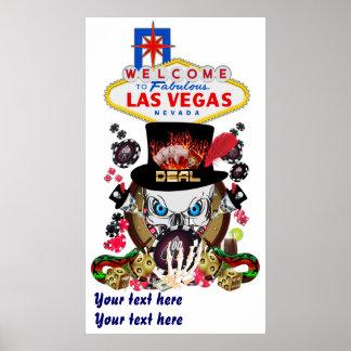 Jogador de Vegas todos os comentários do artista d Posters