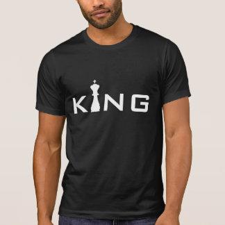 Jogador de xadrez legal do rei Tipografia Camiseta