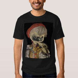 Jogador do violino camisetas
