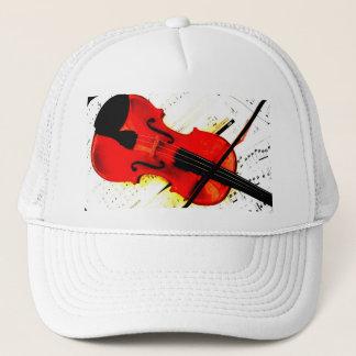Jogador do violino ou boné da banda