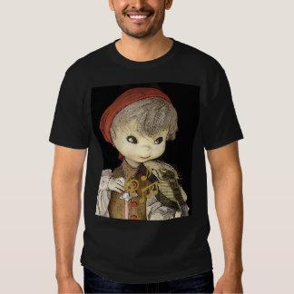 Jogador do violino tshirts
