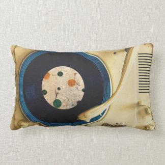Jogador gravado do vintage almofada lombar