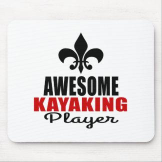 JOGADOR KAYAKING IMPRESSIONANTE MOUSE PAD