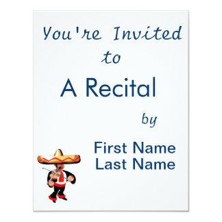 jogador mexicano do violino convites