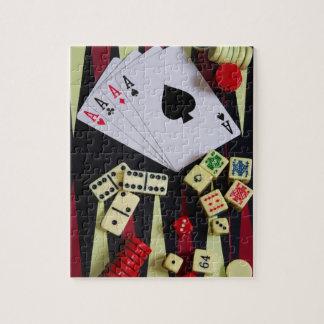 jogador quebra-cabeças jigsaw