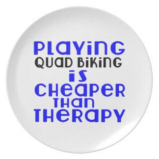 Jogando Biking do quadrilátero mais barato do que Prato De Festa