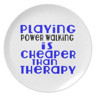 Jogando o passeio do poder mais barato do que a prato