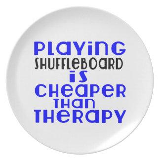 Jogando o Shuffleboard mais barato do que a Prato De Festa