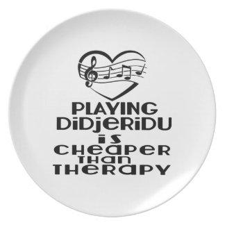 Jogar Didjeridu é mais barato do que a terapia Prato
